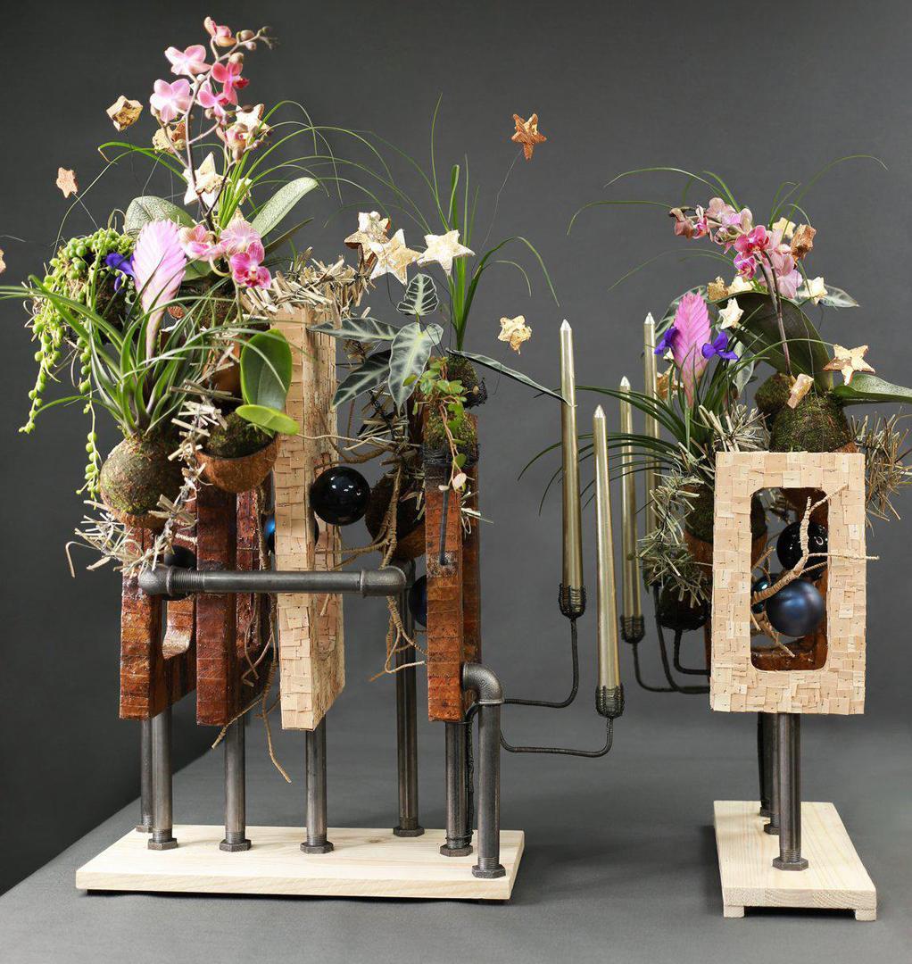 Открытие творческой мастерской «Цветник» на Неглинной