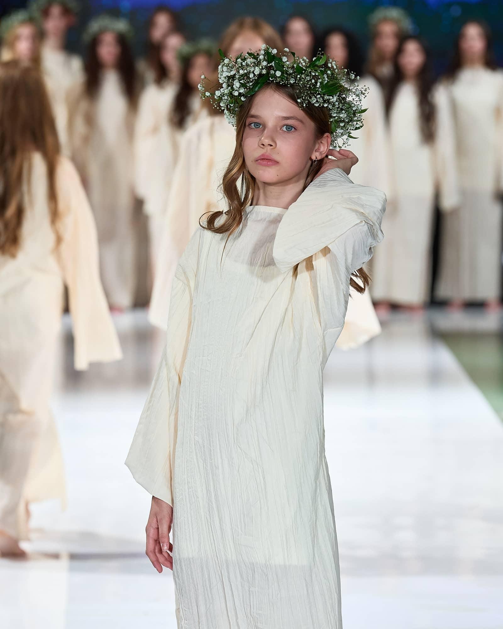 Мы стали цветочными партнерами Kids Fashion Week – Неделя детской Моды