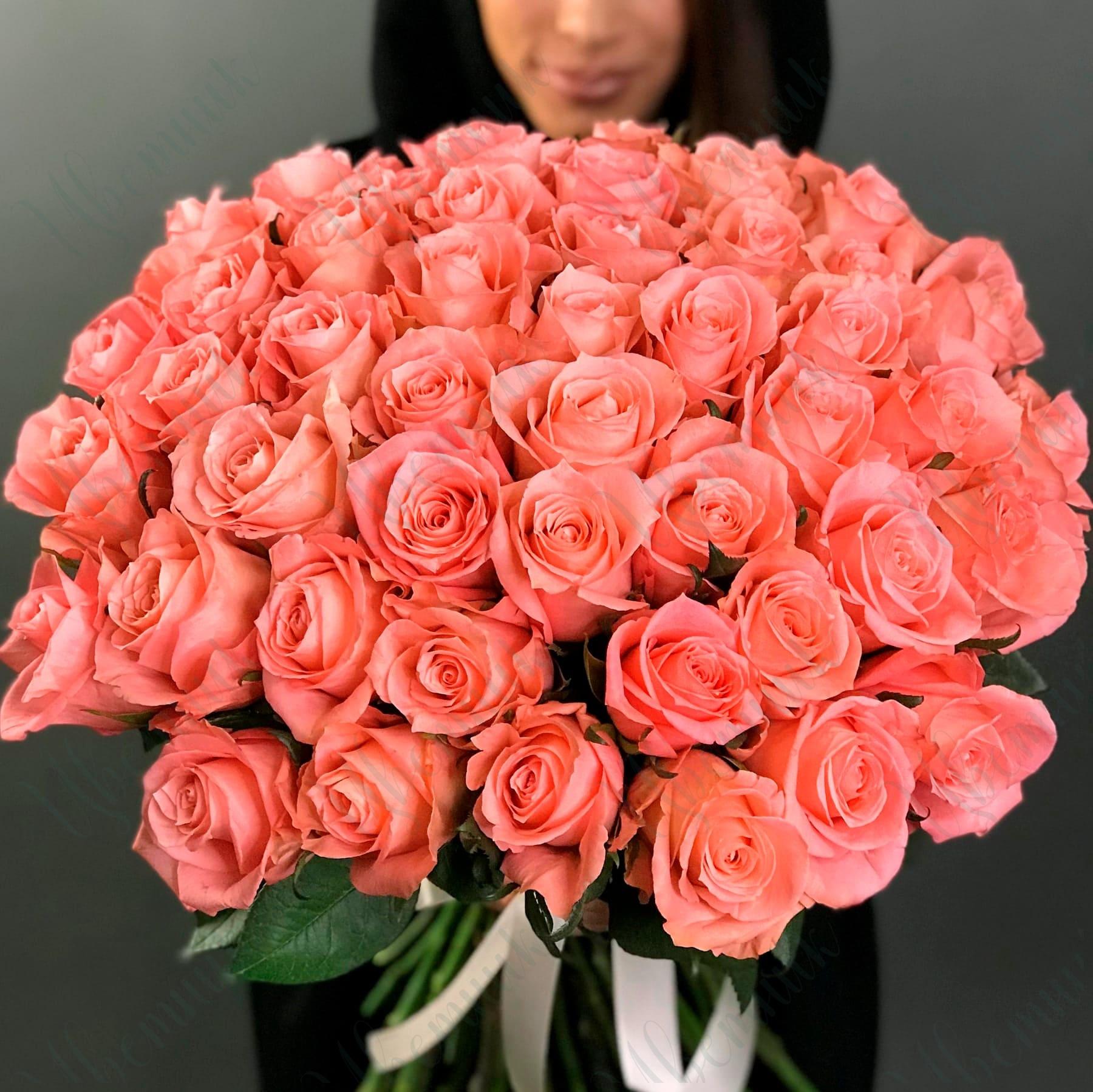 Букет «Розовый десерт»
