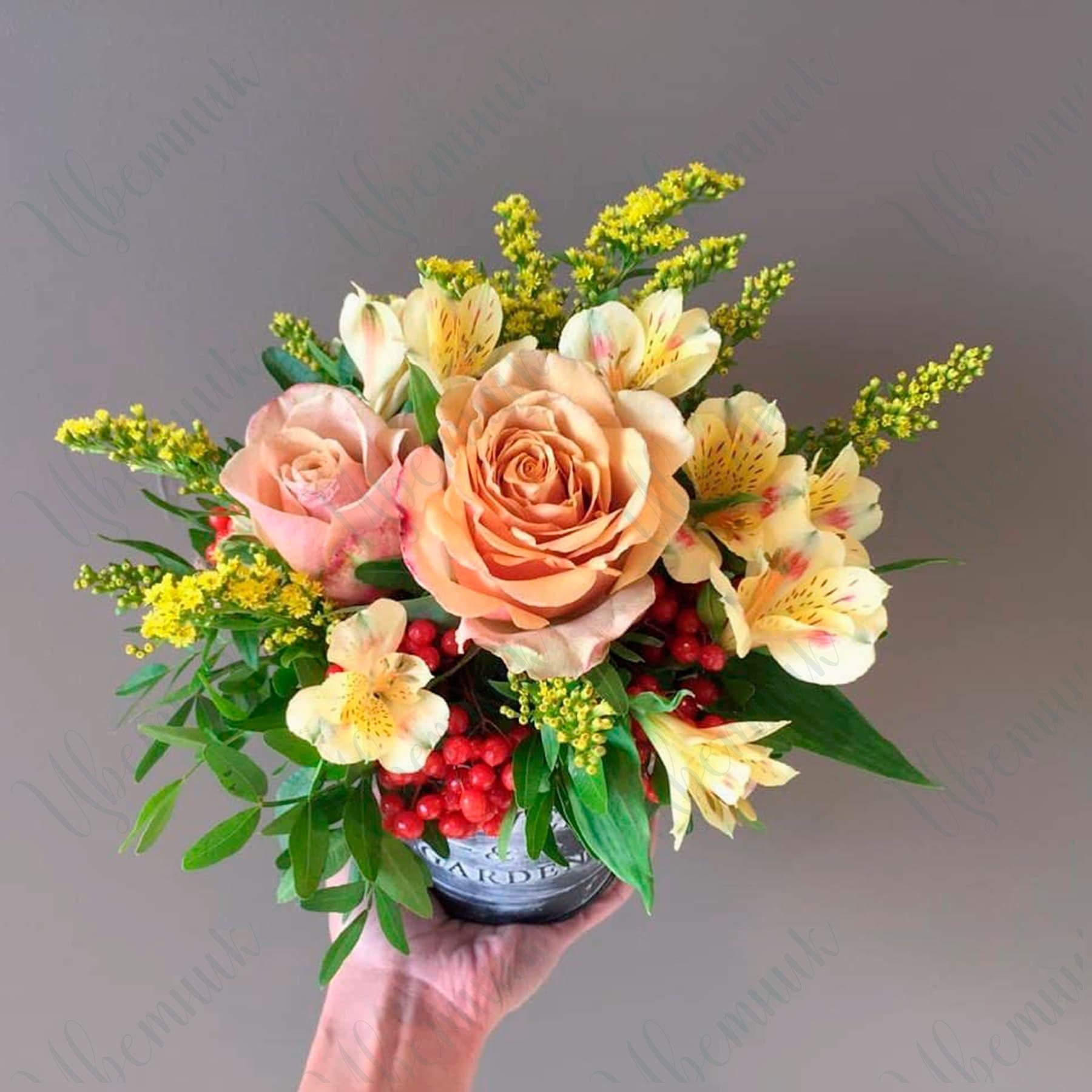 Букет «Цветочный привет»
