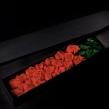 Элегантная коробка с красными розами
