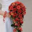 Дизайнерский Букет Невесты в форме капли