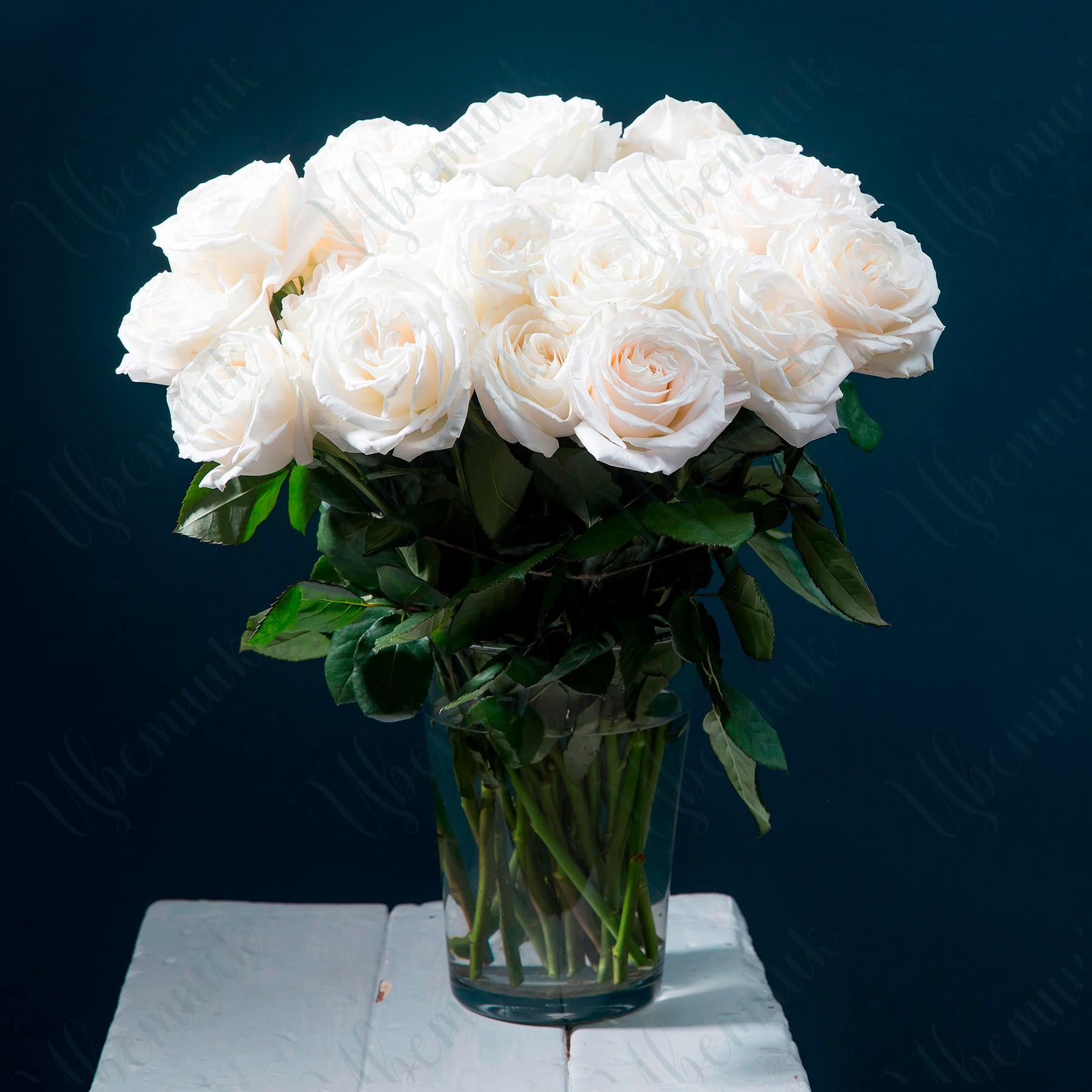 Шикарный букет из 29 роз Плая Бланка