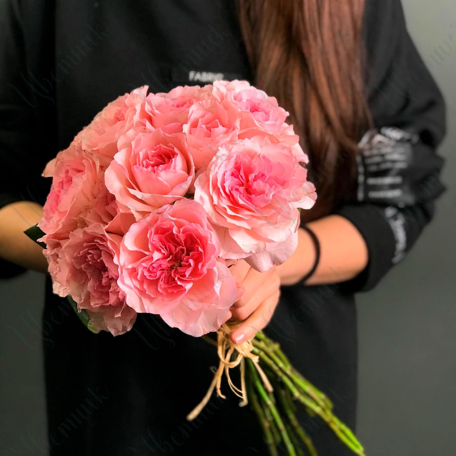 Букет «Розовые грёзы»